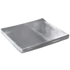 Choice 18 X 18 Insulated Foil Sandwich Wrap Sheets 500 pack