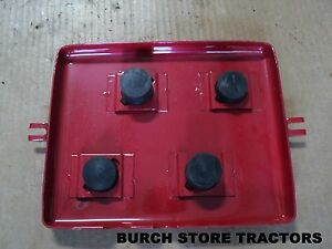 New Original Style Farmall Cub Cub Lo Boy Battery Box Lid With Rubber Spacers