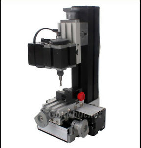 Universal Mini Metal Milling Machine Diy Woodworking Power Tools Modelmaking