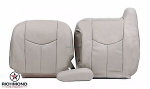 2003 2006 Cadillac Escalade driver Side Complete Leather Seat Covers Tan