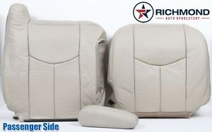 2003 2004 Chevy Tahoe Lt Z71 Ls passenger Side Complete Leather Seat Covers Tan