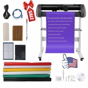 34 Cutter Vinyl Cutter Best Value Sign Decal Making Kit W design Cut Softwr Ekg