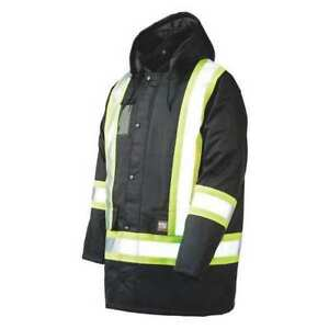 Hi vis Jacket black m