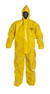 Dupont Tychem Br Suit Br127tyl5x000200 Extreme Nbc Protection Size 5x