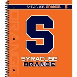 Lot Of 11 C r Gibson 5 subject Spiral Notebook College Ruled Syracuse Orange