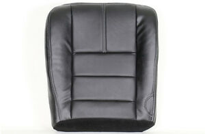 2008 2010 Ford F250 Fx4 Xlt With Leather driver Side Bottom Seat Cover Black