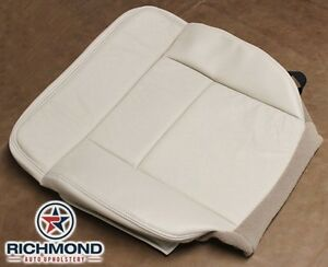 2004 Ford F150 Lariat 4x4 2wd Driver Side Bottom Bucket Leather Seat Cover Tan