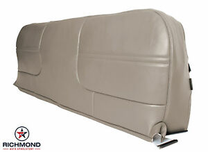 00 02 Ford F350 Xl Welding Service Utility Bed Bottom Bench Seat Vinyl Cover Tan