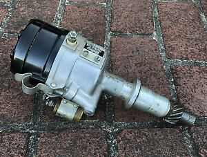 Vintage Mallory Double Life Dual Point Distributor 1965 1981 Pontiac Yc 312 Hp