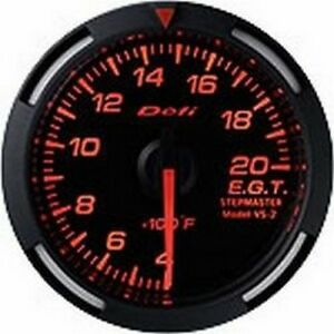 Defi Red Racer Gauge 52 Exhaust Temp