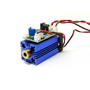 Green Diode Lasers 520nm 100mw Laser Dot Module Fan Cooling Long Time Work 12v