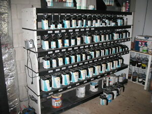 Used Glasurit 55 Line Paint System