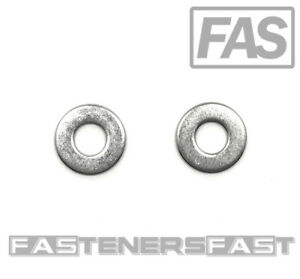 100 1 4 Stainless Steel Flat Washer 100 Pcs Fast Free Shipping
