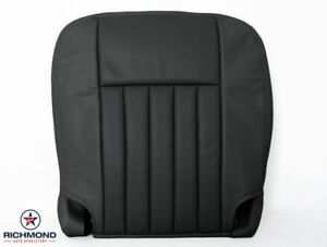 2003 2006 Lincoln Navigator Luxury driver Side Bottom Leather Seat Cover Black