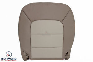 2003 Expedition Eddie Bauer Driver Side Bottom Replacement Leather Seat Cover