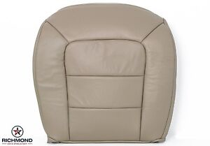2004 Ford Explorer Sport Trac driver Bottom Replacement Leather Seat Cover Tan