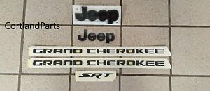 2012 2017 Jeep Grand Cherokee Srt 8 Mopar Oem Black Decals