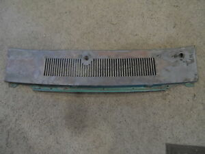 1969 1970 Ford Mustang Cougar Mach Eliminator Windshield Metal Cowl Panel Grille