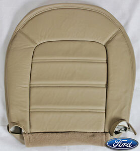 2004 Ford Explorer Xlt Xls driver Bottom Replacement Leather Seat Cover Tan