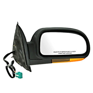 Fits 03 04 Bravada 04 07 Rainier Right Pass Mirror W heat amber Sign power Fold