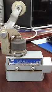 Microswitch Dte6 2rn2 8707