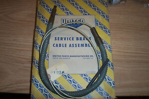 Nors Ford ford Truck 1937 38 Brake Cable Assembly 91215