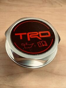 2011 2019 Tacoma Genuine Trd Polished Billet Aluminum Oil Cap Ptr35 00110
