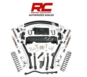 1984 01 Jeep Xj Cherokee 4wd 4 5 Rough Country Long Arm Lift Kit Np231 68922
