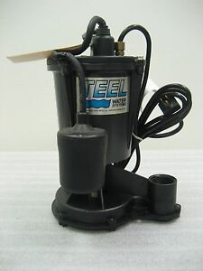Teel Submersible Pump 3p635a 115 Vac 1 3 Hp 1 5 Inch Output