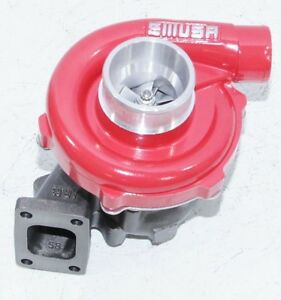 Red Emusat3 t4 Hybrid Turbo Charger 50 A r Compressor 63 A r Turbine Wheel