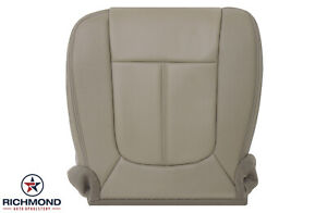 2013 2016 F250 F350 Lariat driver Side Bottom Replacement Leather Seat Cover Tan