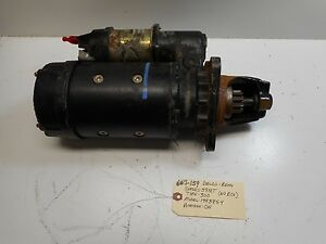 Delco Remy 1993854 Starter Series 37 Mt Type 300