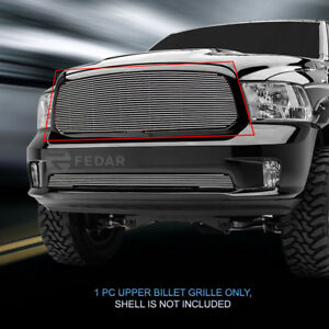 Billet Grille Grill Upper Insert For Dodge Ram 1500 2013 2017 2014 2015