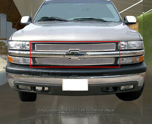 Formed Mesh Grille Overlay For Chevy Silverado suburban tahoe 1999 2006
