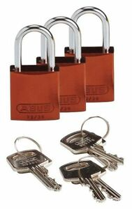 Lockout Padlock ka brown 1 7 16 h pk3 Brady 133285
