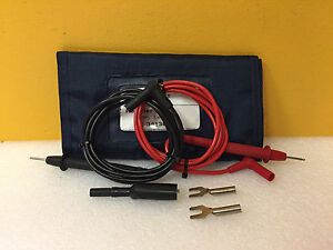 Hp Agilent 34130a Test Lead Set Pouch For 34401a Etc Multimeters