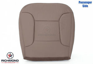 1995 Bronco Eddie Bauer Passenger Side Bottom Perforated Leather Seat Cover Tan