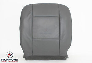 2004 2009 Dodge Durango Slt 2wd 4x4 driver Side Bottom Leather Seat Cover Gray