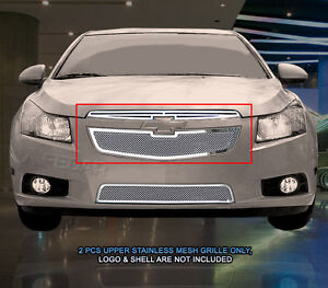 Main Upper Formed Mesh Grille Grill For Chevy Cruze 2011 2012 2013 2014