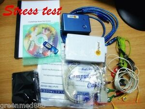 Contec Wireless Stress Test Cardioscape System Cardiac Stress Exercise software