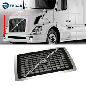 Replacement Grille Emblem Bar And Bug Net Screen For Volvo Vnl 2003 2016