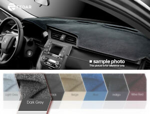 Dark Grey Dash Cover Dashboard Pad Mat For Chevy Cavalier 1995 2006