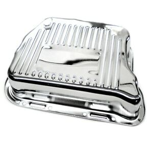 Chrome Deep Mopar 727 Torqueflite Transmission Pan Fits Dodge Plymouth Chrysler