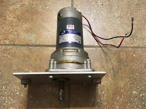 Paterson Gs3506 Electric Gear Motor 24 Volts Dc 68 Rpm 25 In lb Gearmotor