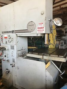 Peerless 3000 Mh 36 Bandsaw Hydraulic Tilt Table Blade Welder Grinder Metal