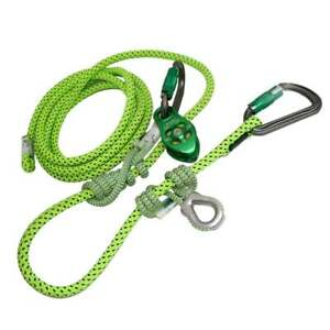 Arborist Flipline lanyard hipstar Flex Moveable Anchor And Slack Tending Pulley