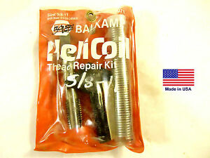 Helicoil Brand Thread Repair Kit 5 8 11 Pkg D For Napa Part 770 3071 New