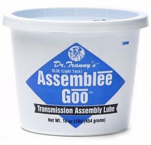 Transmission Rebuild Assembly Lube Grease Dr Tranny Soft Light Blue Style Goo