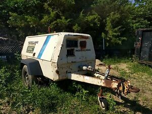 Ingersoll Rand Air Compressor Trailer
