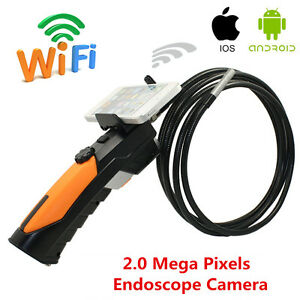 Hd Wifi Endoscope Video Inspection Snake Camera 8 5mm Borescope For Android Ios